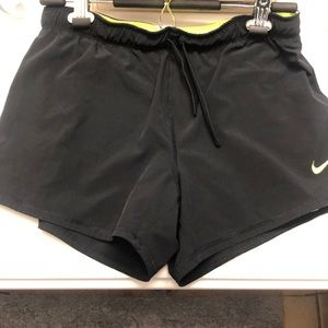 NIKE Dri-Fit 2-in-1 Shorts - Size Small